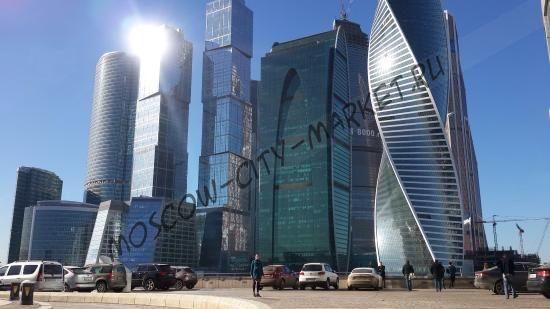 Наземные смотровые площадки Москва-Сити