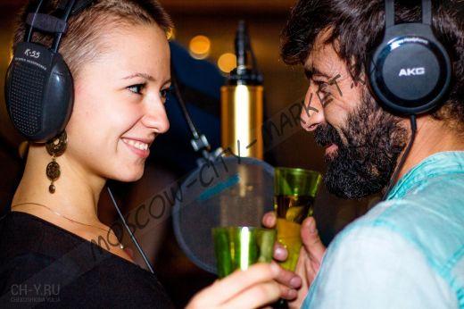 Романтическое свидание в студии звукозаписи