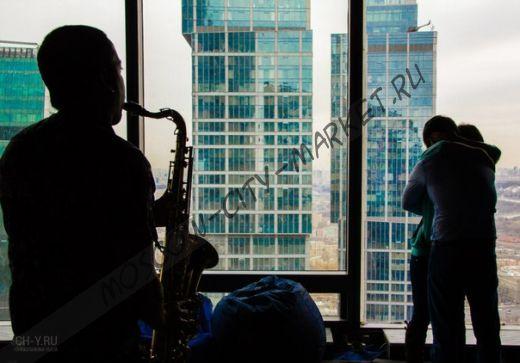 Романтическое свидание с фотосессией  и душевной живой музыкой  в Москва-Сити